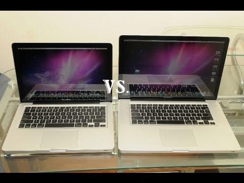 MacBook Pro 13 Inch Core i5 vs 15-Inch Quad-Core i7 Bootup (Early 2011)