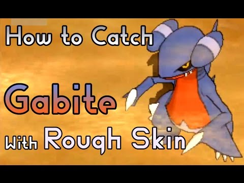 How to Catch a Gabite with Rough Skin Hidden Ability - Pokemon Sun and Moon