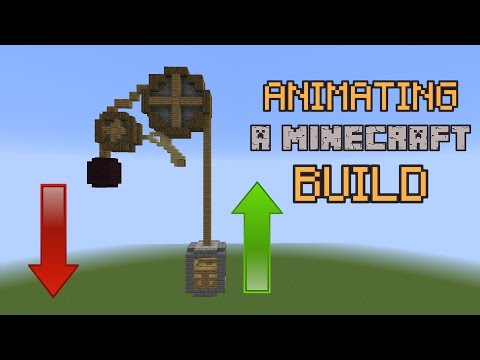 How to Animate a Minecraft Build!
