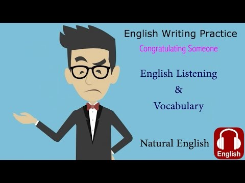 Emails in English | Congratulating Someone on a Promotion | English Writing Assignment