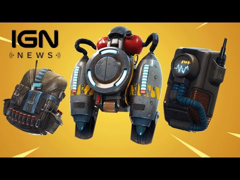 Fortnite's Latest Update Accidentally Included a Storm Tracking Backpack - IGN News