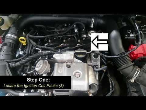 How to replace Ford Ecoboost engine spark plugs
