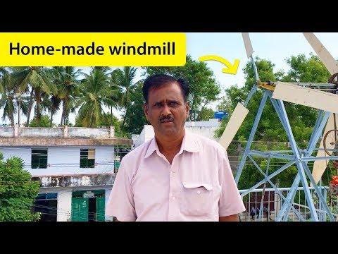 Handmade Windmill: My daddy spent ₹1Lakh (Tamil Vlog 2018)