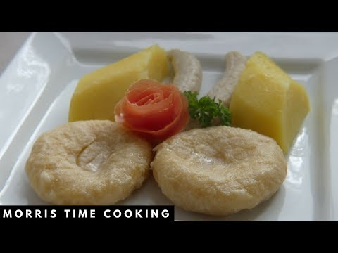 How To Cook Boiled Dumplings With Yam & Green Banana | Lesson #7 | Morris Time Cooking