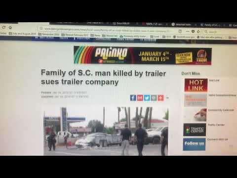 Dangerous Trailers.Org Presents Why The Entire Utility Trailer Industry Is On Notice Finially