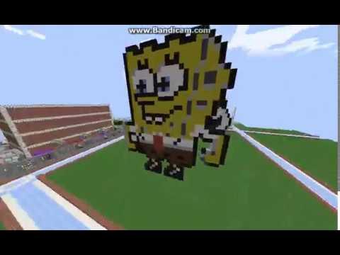 (READ DESC) Minecraft Spongebob Speed Build