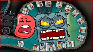 1000 ПОДРЫВНИКОВ в подземелье напали на КРАСНЫЙ ШАРИК  ! новая веселая игра ! Мультик   ! Для детей