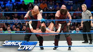 The Hype Bros vs. The Bludgeon Brothers: SmackDown LIVE, Nov. 28, 2017