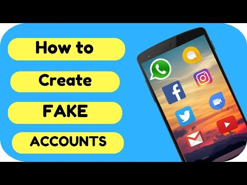 How to create Fake🤘 Whatsapp, Facebook, Instagram, Twitter, Gmail, telegram etc. Accounts