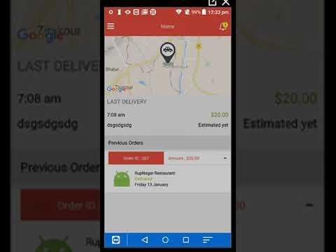 Create Online Food Ordering Mobile App