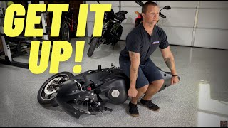 How to Pick Up A Dropped Motorcycle! | New Rider Tips