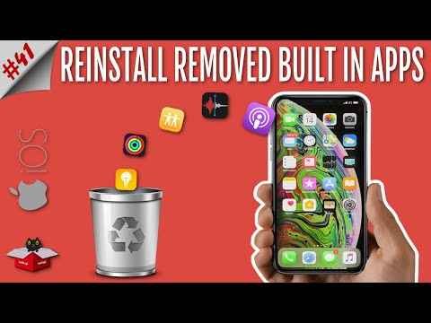 Restore Default/Stock/Pre Installed/Built in Apps Deleted From iPhone & iPad | iOS 12/11/10/9/8
