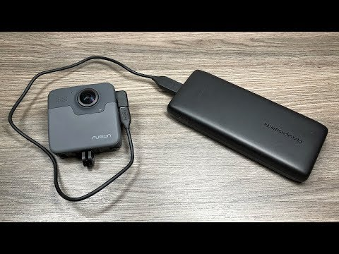 Using GoPro Fusion With A Power Bank