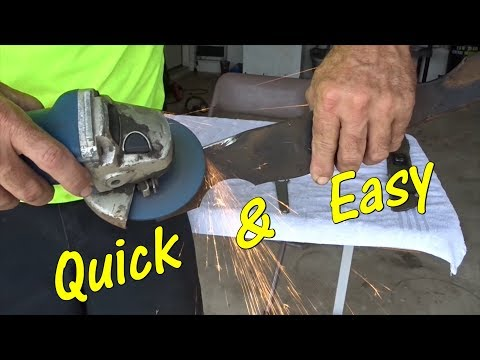 How To Easily Sharpen and Balance A Lawn Mower Blade - Lawn Service Side Hustle Tools I Use