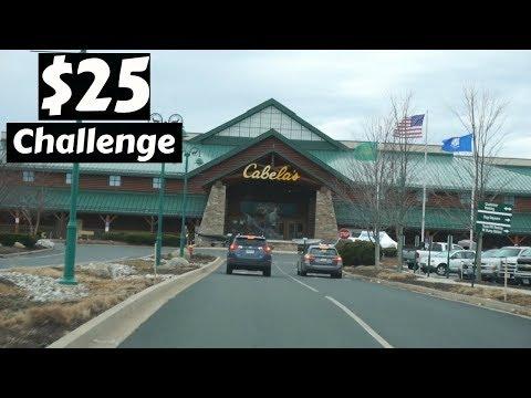 $25 Fishing Tackle CHALLENGE ( Cabelas) ~ Topwater ~ WEEK 2, 2018