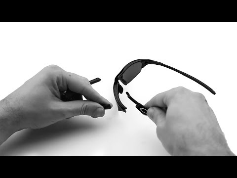 Oakley Half Jacket Rubber Kit Replacement & Installation Instructions
