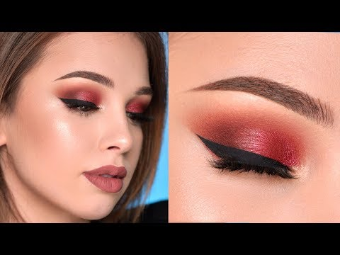 Warm-Toned Smokey Eye Makeup Tutorial