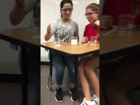 Sodium Chloride and Baking Soda experiment