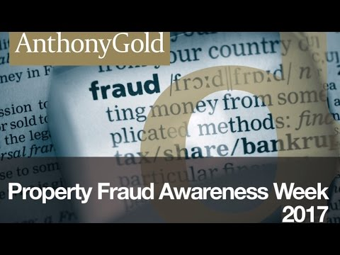 What are the signs of a typical property fraud Scam?
