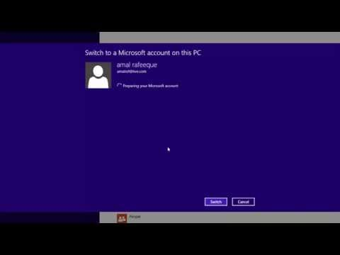 How to Set up a Microsoft User Account on Windows 8.1 Simple steps | New