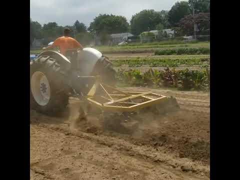 My sandy loam soil!
