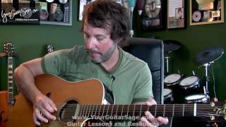 Absolute First Beginner Acoustic Guitar Lesson - Beginner Acoustic Guitar Lesson
