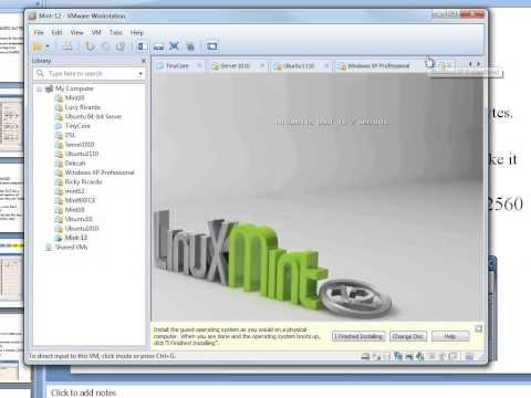 Installing Linux Mint