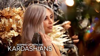 KUWTK   Kim Kardashian Warns Family About Copying Her Christmas Decor   E!
