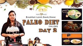 பாதாம் தோசை | புல்லட் புரூப் காபி | சுரைக்காய் ரைஸ் | பாலக் சூப் | Paleo 15 Days Challenge | Day 2
