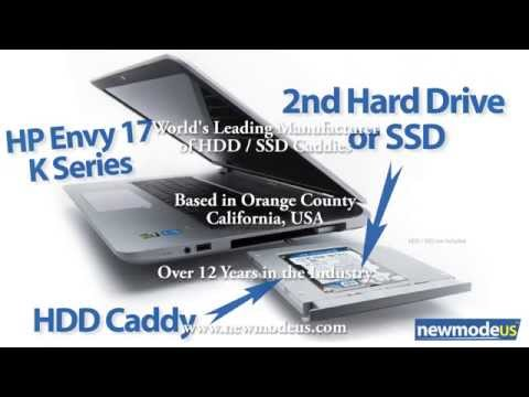 HDD SSD Caddy for HP Envy 17t  (K000, Kxxx) Series