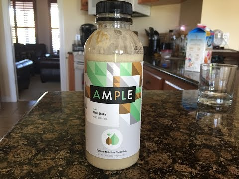 AMPLE Powdered Complete Optimal Nutrition Replacement Meal