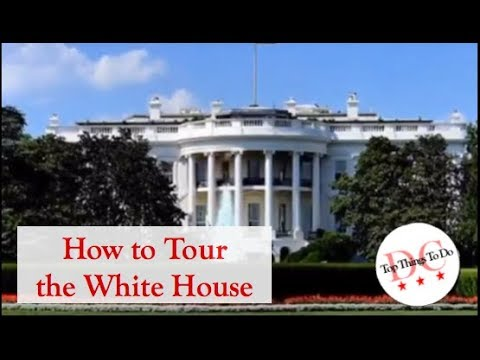 How to Get A Tour of the White House
