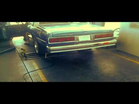 HD EMISSION TEST WITH SIMPSON CHEVY CAPRICE