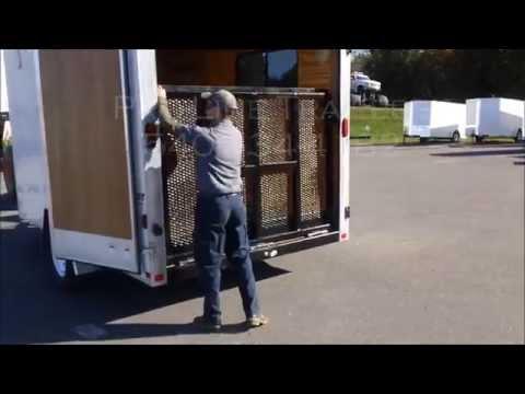 Double Door to Ramp Door Trailer Conversion by Pro-Line Trailers