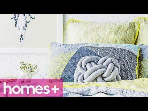 DIY IDEA: Celtic knot cushion - homes+