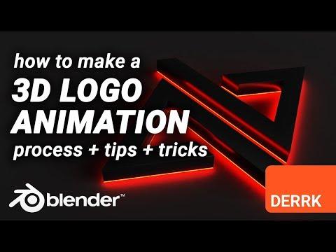 Create a 3D Logo Animation in Blender