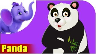 Animal Songs for kids | Panda Song