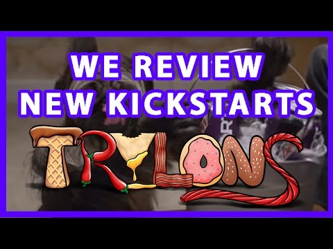 We Review Four New Kickstarts from Mountain Dew - Trylons