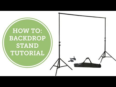 How To: Backdrop Stand Tutorial | BalsaCircle.com