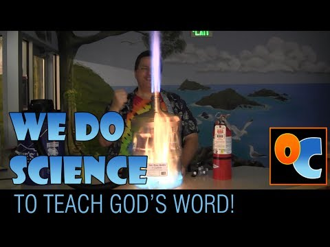 We Do Science to Teach God's Word! by Objectively Cool