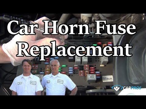 Car Horn Fuse Replacement