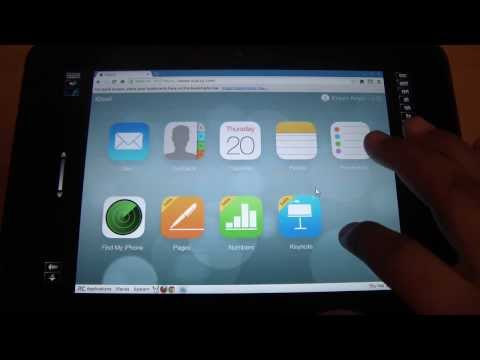Use Apple iWork online (Keynote, Pages and Numbers web apps) at iCloud.com on your Kindle Fire HD