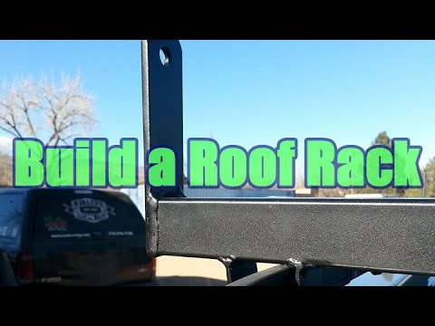 How-to Build A Ladder Rack For Your Family Mini-Van