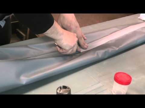 Самостоятельный ремонт и хранение резиновой лодки