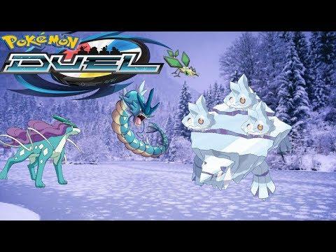 Pokémon Duel | Lost In A Winter Wonderland | Insane Freeze/Banish Deck
