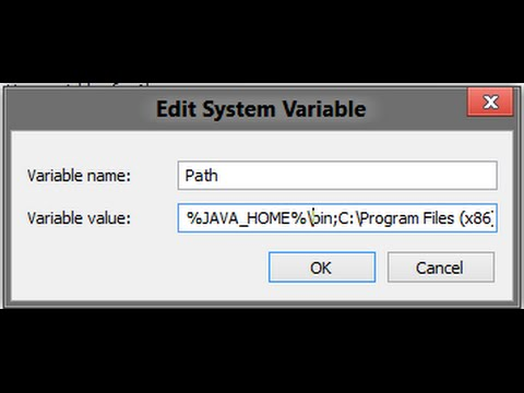how to set java path in windows 10 64-bit
