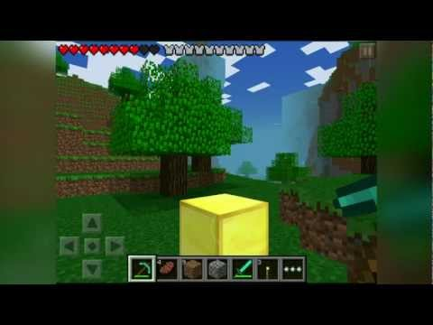 Minecraft Pocket Edition - Unlimited Diamonds, Iron and Gold Glitch 0.6.1 iPod/iPad/iPhone
