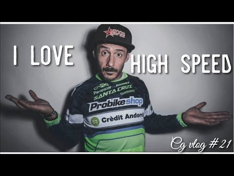 I LOVE SPEED - Go DeathGrip On A Mountain Bike - CG VLOG #21
