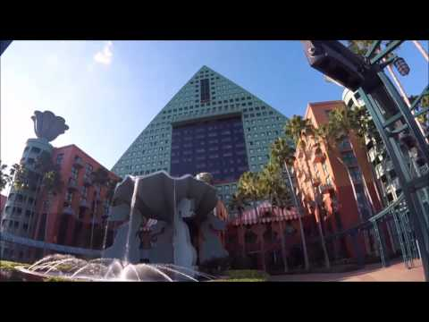 Room & property tour - The Dolphin Hotel at the Epcot back gate