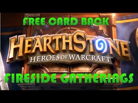 [NEW!] Heathstone Fireside Gatherings + New Card Back